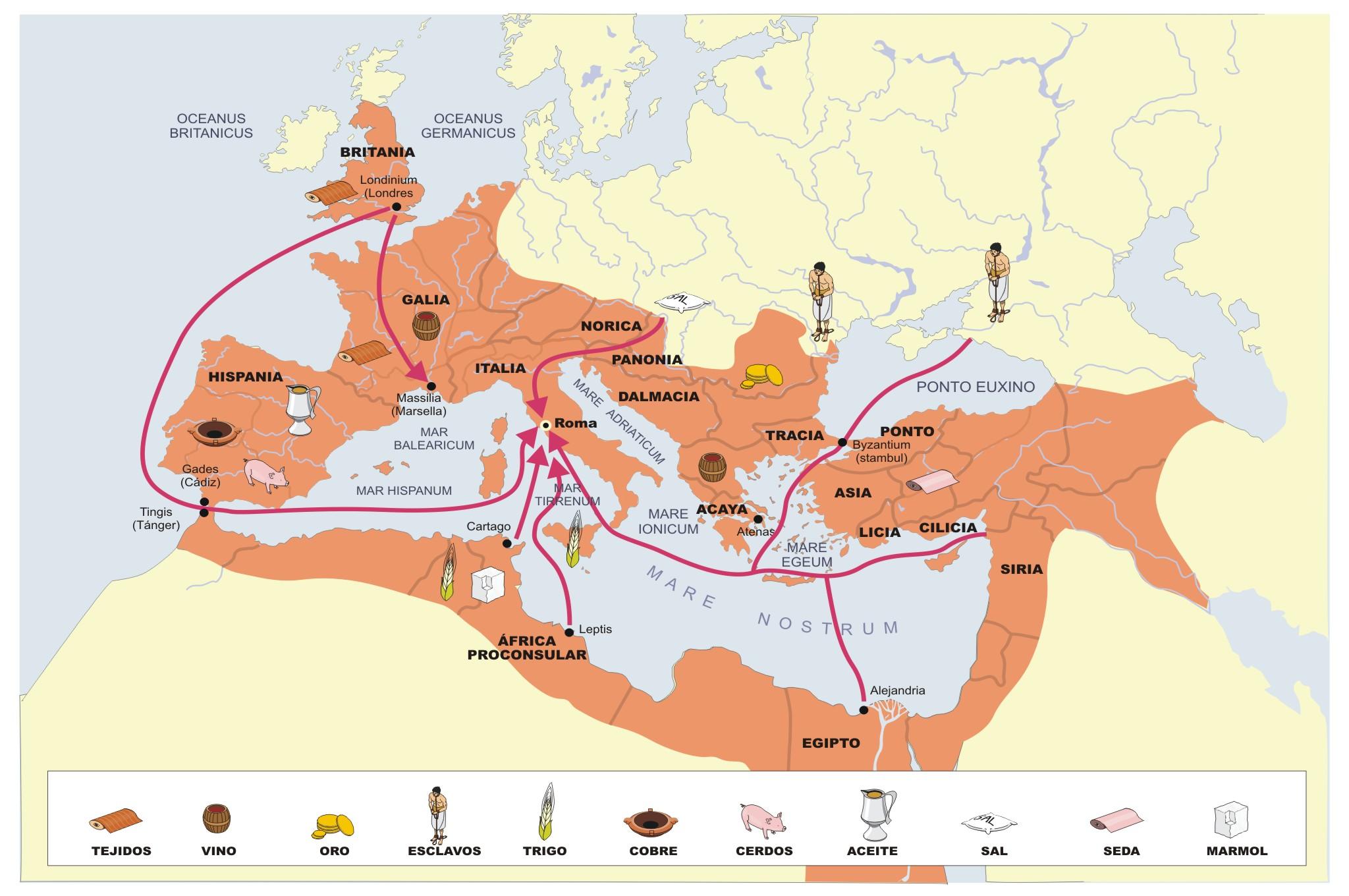 BIOMBO HISTÓRICO: EL COMERCIO MARÍTIMO EN EL IMPERIO ROMANO