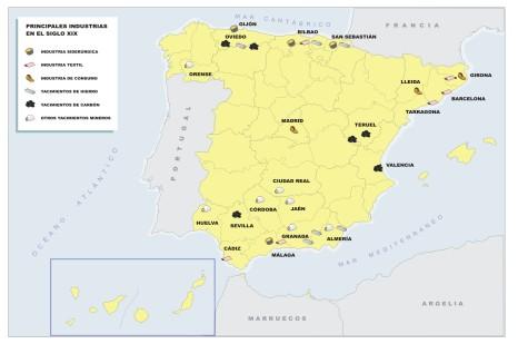 mapa temático españa