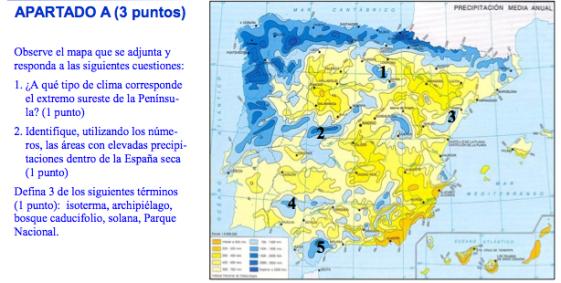 fragmento examen pau geografia