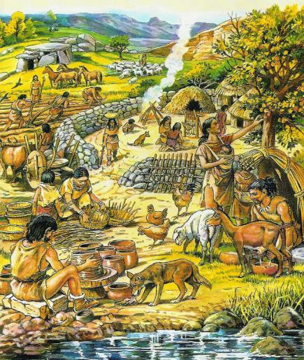 vida en el neolitico