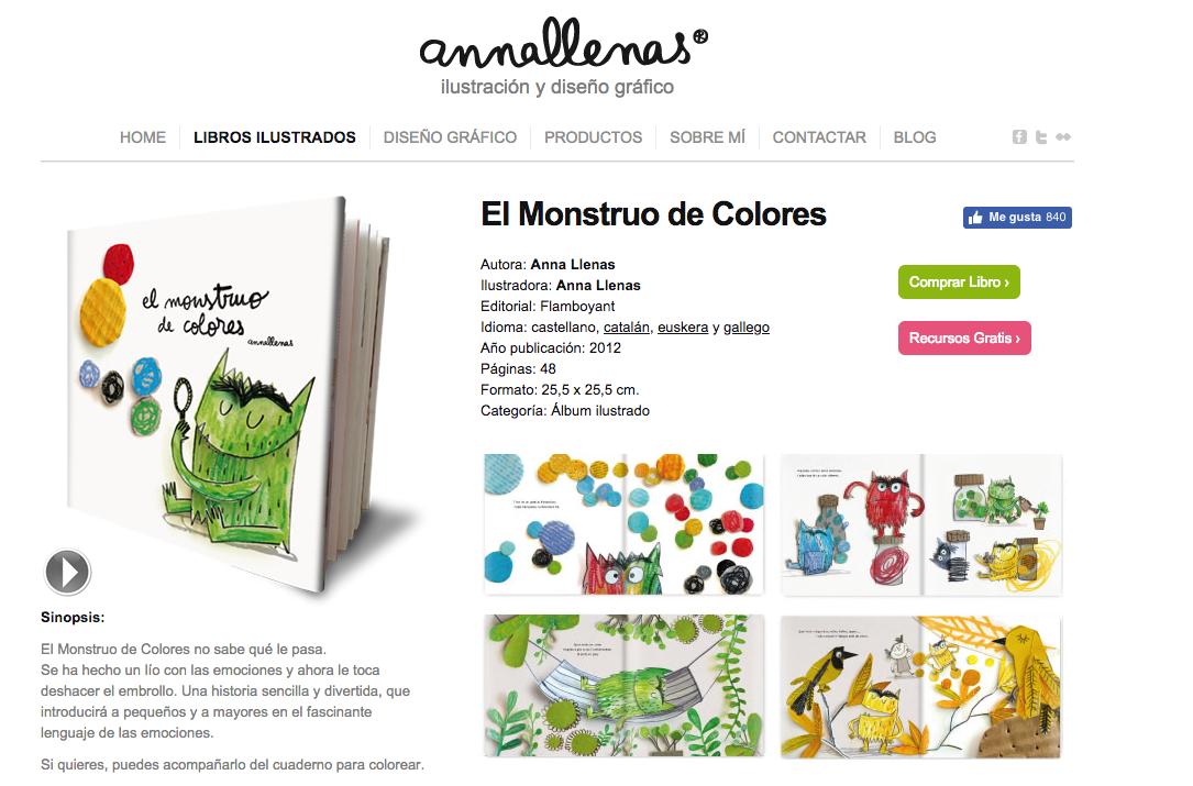 EL MOUNSTRUO DE LOS COLORES, ANNA LLENAS