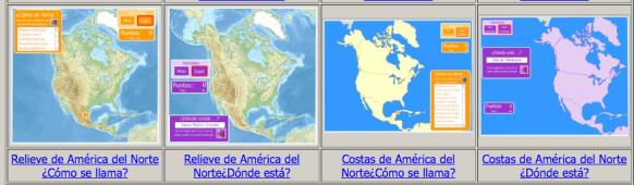 Mapa Interactivo America Fisico.Mapa Fisico De America Aprende Geografia Historia Arte